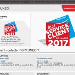 Fortuneo Service Client 2017